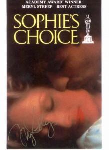 sophie-218x300 La scelta di Sophie