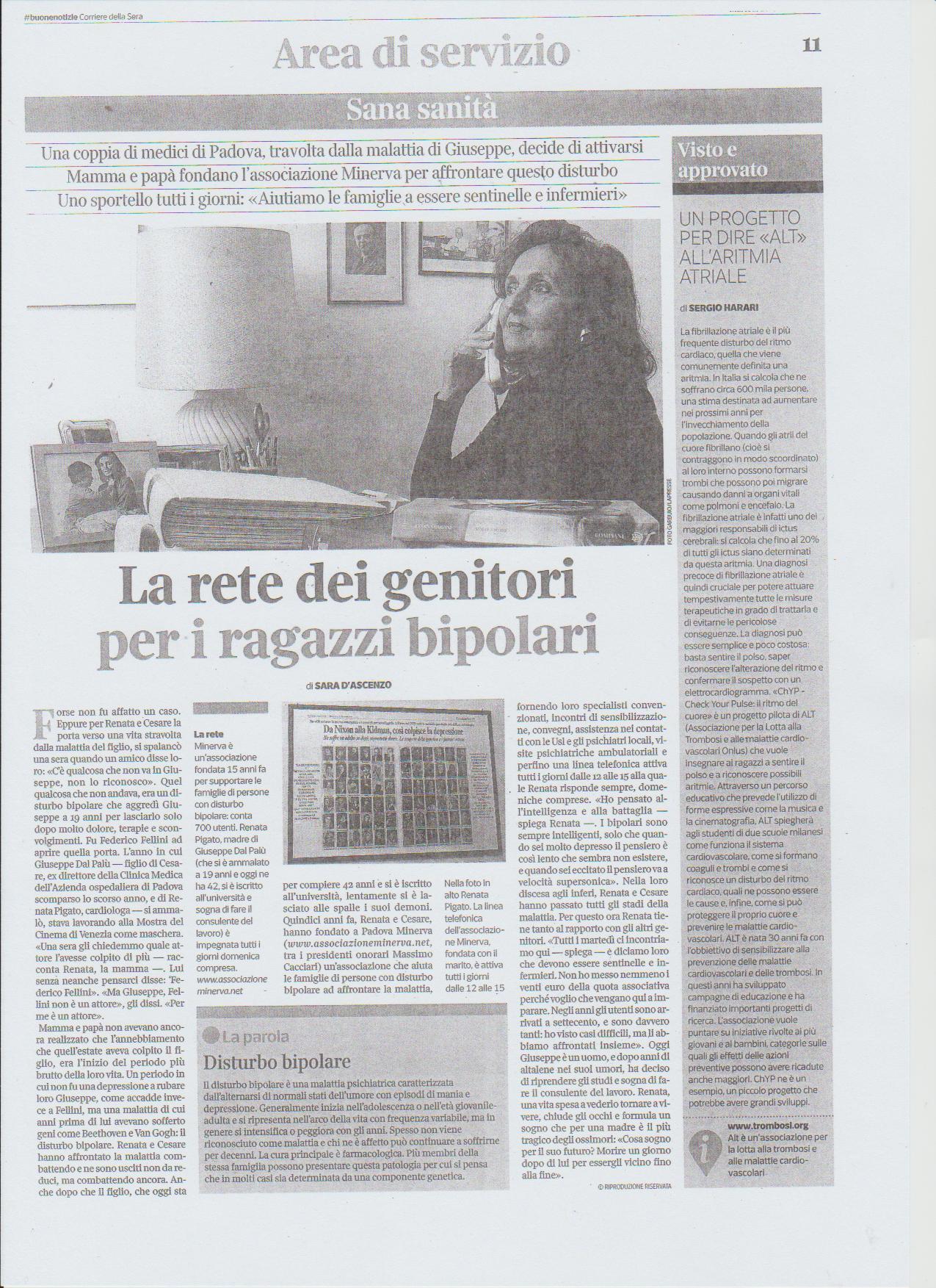 LaReteDeiGenitori_17ottobre2017 La Rete Dei Genitori - Corriere della Sera del 17 ottobre 2017